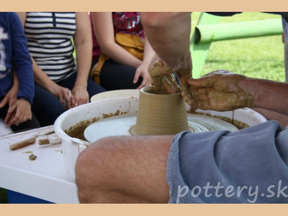Pottery at pony farm