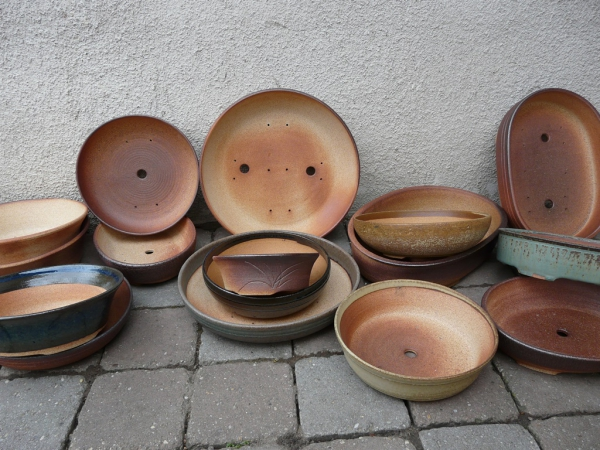 Pottery from kiln - February 2016