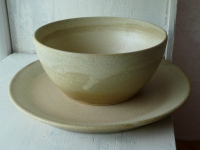 bowl with plate